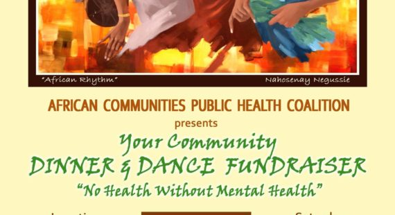 "Dinner And Dance Fundraiser ""No Health Without Mental Health"""